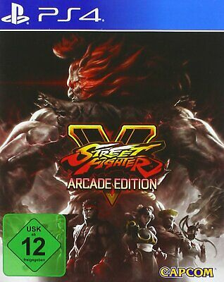 PS4 Game Street Fighter 5 V Arcade Edition NEW MERCHANDISE