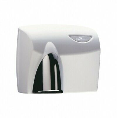 Jd Macdonald Autobeam Automatic Hand Dryer White With Polished Chrome Nozzle
