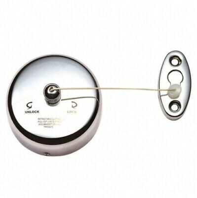 New Con-Serv Comfort  Ba782c Retractable Clothes Line - Silver