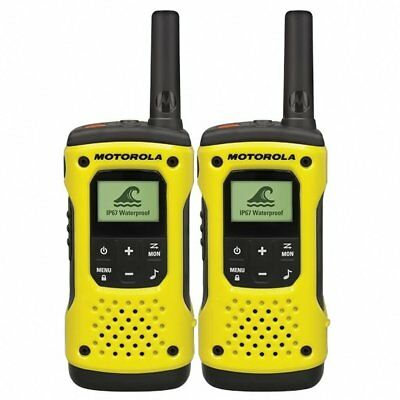 Motorola Tlkr T92 H2O PMR446 2-Way Walkie Talkie Waterproof Radio Twin Pack