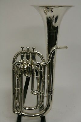 Baritone Besson International model BE757 silver plated
