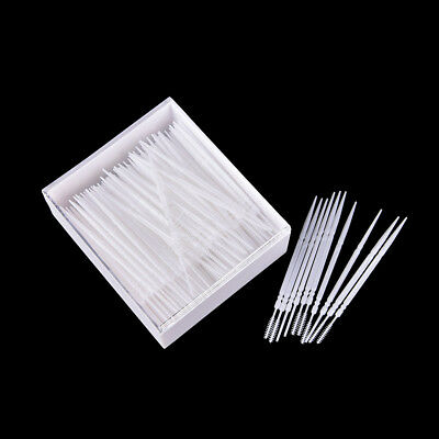 300 Pcs Plastic Dental Picks Igiene orale 2 vie Spazzolino interdentale Pick