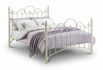 Julian Bowen Florence Metal Bed -Various Sizes - Mattress Option - Free Delivery