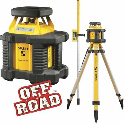 Stabila Off Road 1000 Ft. Self-Leveling Rotary Laser Level  - NEW