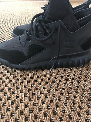 wholesale dealer 084c1 24a13 Adidas Originals Tubular X Black Dark Grey Men s Running Shoes S80132