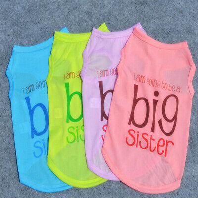 Puppy Cat T-Shirt Summer Apparel Vest Hot Small Pet Dog Clothes Costume Letters