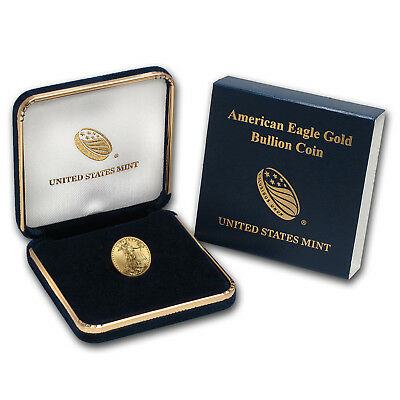 2018 1/10 oz Gold American Eagle BU (w/U.S. Mint Box) - SKU#152746