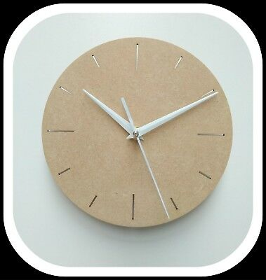 Wall Clock Wood Craft Assembly Wooden Construction Clock