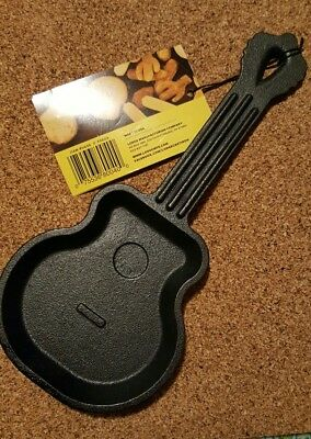 Discontinued Lodge Cast Iron Guitar Skillet