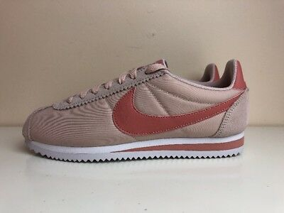 the latest 61762 770a0 Nike Classic Cortez Nylon Womens Trainers Raw Pink UK 5.5 EUR 39 749864 603