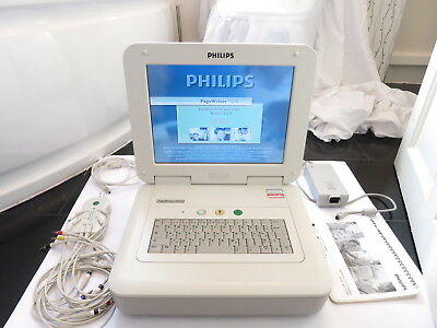 Philips Pagewriter Tc70 Touchscreen Colour Ecg Cardiograph Ekg Monitor Printer