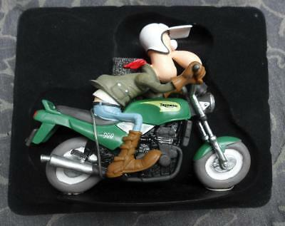 Figurine JOE BAR TEAN - James Lee Rossbif - Triumph 900 Trident