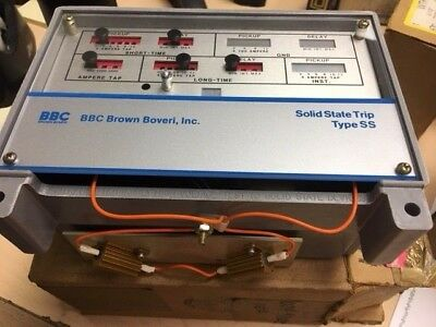 BBC Power Shield 609904-T001, Type SS4, Solid State Trip Unit, New Surplus