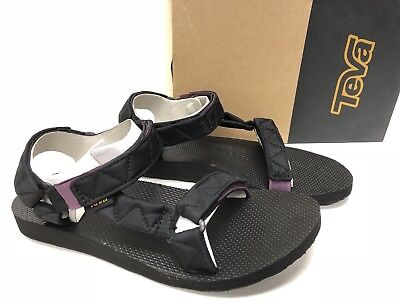 0dd61fce6f98 TEVA ORIGINAL UNIVERSAL PUFF Black WOMENS SANDALS 1017444 Shoes Strappy