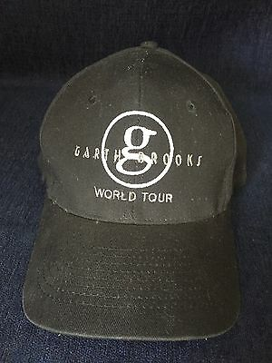 Garth Brooks World Tour Ball Hat With Dan Roberts And Bryan Kennedy Signatures
