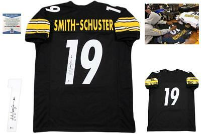 8feaff1efce JuJu Smith-Schuster Autographed SIGNED Jersey - Beckett Authentic - Black