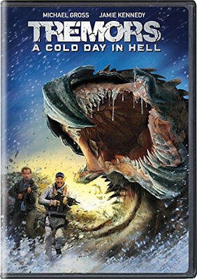 Tremors: A Cold Day In Hell Dvd - Single Disc Edition - New Unopened