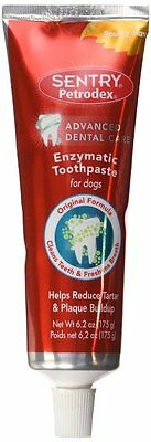 Dog Toothpaste SENTRY Petrodex Enzymatic Toothpaste for Dogs Poultry 6.2 oz New