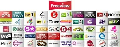 Channel list  **** 2019 *** FREEVIEW UK ***  FIX OPENBOX V8S F5S *uk sat*