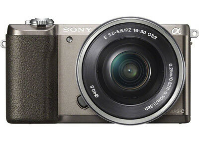 Sony Alpha A5100 Digital Camera Kit with 16-50mm Lens Brown QQ