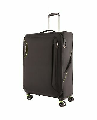 American Tourister Applite 3.0 82cm Spinner Suitcase Black/Green