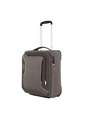 American Tourister Applite 3.0 50cm Carry On Upright Suitcase Lightning Grey
