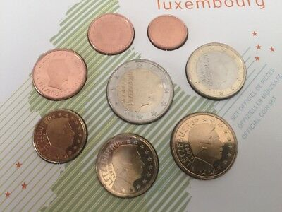 Luxemburg Kms 125102050 Cent 1 2 Euro 2009 Pp Lose Eur 1001