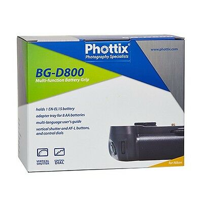 Phottix BG-D800 - Empuñadura Nikon      NEW CONDITION