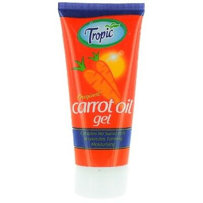 Sun Tropic Carrot Sun Tan Oil Gel 100ml