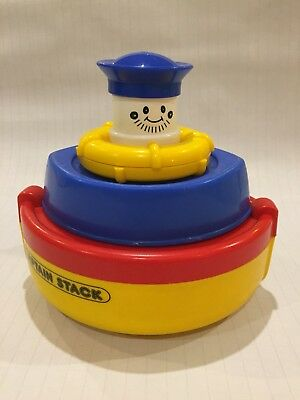 Captain Stack - Childrens Retro Stacking Bath / Playtime Toy - Early Learning