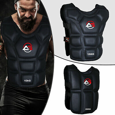 Pro Weighted Vest Gym Running Fitness Sports Training Weight Loss Jacket Kombat