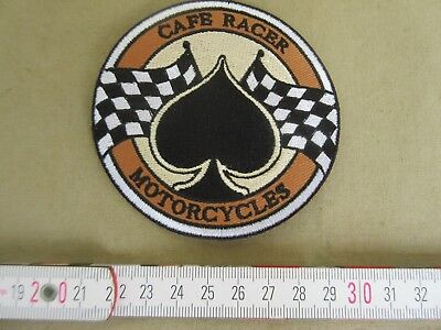 Patch Cafe Racer Biker Hot Rod Nose Art Rockabilly V8 US Car Ratty Oldtimer V12