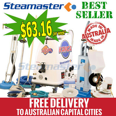 Kanga1600 Extract-Deep Clean carpet cleaner steam cleaning machine w accessories