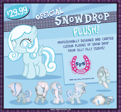 Snowdrop Plush Toy by SFS Animation