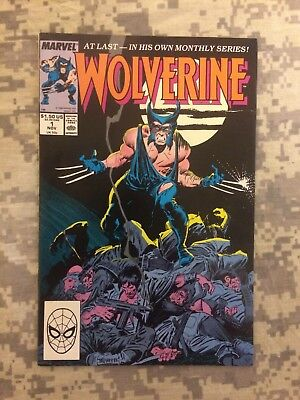 Wolverine #1 First Patch app.