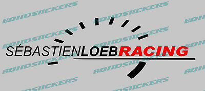 Vinilo de corte Pegatina SEBASTIEN LOEB RACING sticker decal rally autocollant