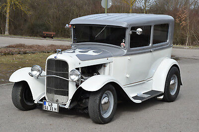 Hot Rod Ford Model A Sedan, Bj. 1931, Chevy 350 mit  rd. 300 PS, Automatik
