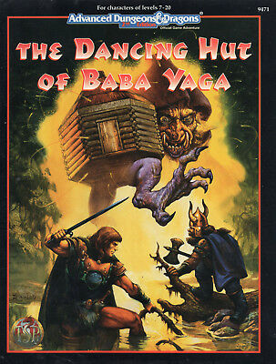AD&D The Dancing Hut of BABA YAGA - Book = NEU & Original
