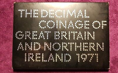 1971 Great Briton And Northern Ireland Coin Set Excellent Collectors Coins