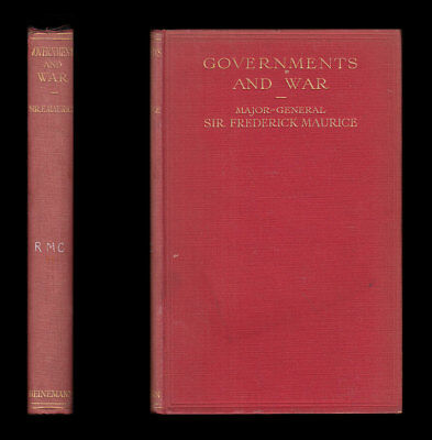 GOVERNMENTS AND WAR Jefferson Davis & Lee ABRAHAM LINCOLN & MCCLELLAN, GRANT WWI