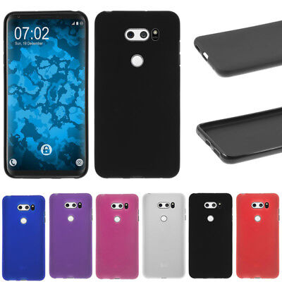Soft Matte Frosted Surface Gel TPU Silicone Case Skin Cover For LG V30 /V30 Plus