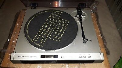 Sharp Rp-30 Giradischi Record Player Turnatable Revisionato Phono Rp30