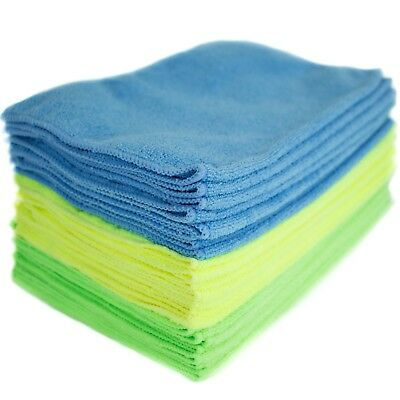 Microfiber Cleaning Cloths Streak free Lint Free Car Home Glass Clean(24-Pack)