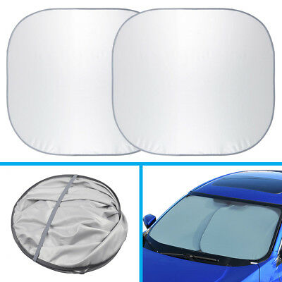 Sun Blocker For Car >> Motor Trend Large Pop Up Auto Sun Shade Heat Blocker For Car