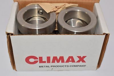 Lot 10 NEW Climax C-200-S 2 Inch Bore Size, Stainless Steel Couplings