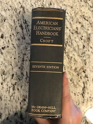 "1953 Antique Electrician Book ""American Electrician's Handbook"""
