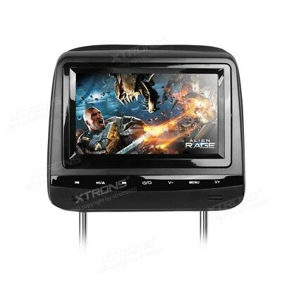 """7"""" Touch Button HD Digital Screen Car Headrest DVD Players with Adjustable Viewi"""
