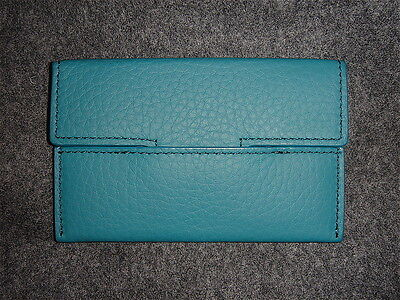 Tom Ford ENVELOPE T Grained Leather Card Case/Wallet