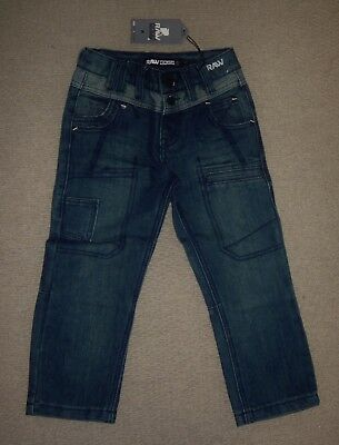 Boy's Raw Edge Jeans Age 2/3 Adjustable Waist  - New With Tags