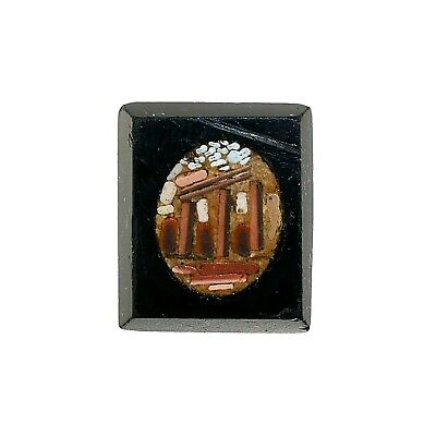(2119)Roman micro mosaic .glass,19 th century.